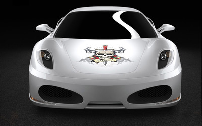 Unique Sportscars Ferrari F430 Calavera wallpaper