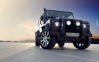 Vilner Land Rover Defender wallpaper