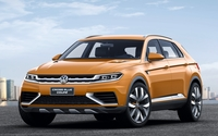 Volkswagen CrossBlue Coupe wallpaper 1920x1200 jpg
