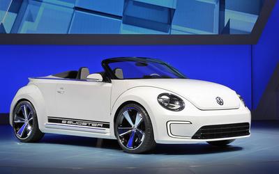 Volkswagen E-Bugster Concept Topless wallpaper