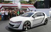 Volkswagen Golf GTI Design Vision wallpaper 1920x1080 jpg