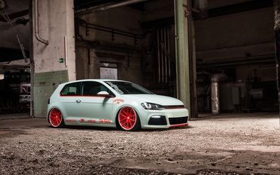 Volkswagen Golf Mk7 wallpaper