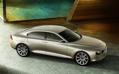 Volvo Concept You side view wallpaper