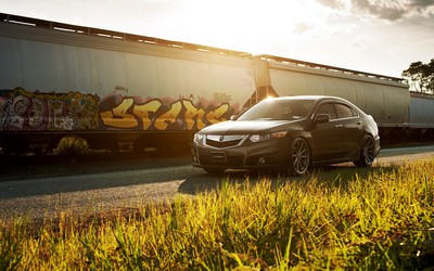 Vossen Acura TSX wallpaper