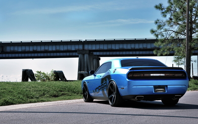 Vossen Dodge Challenger wallpaper