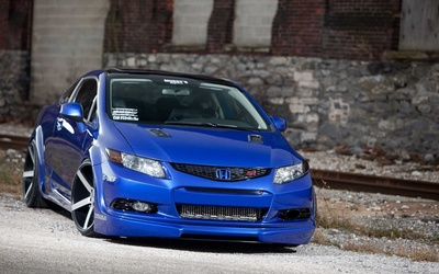Vossen Honda Civic Si wallpaper