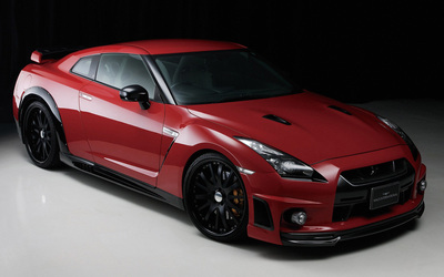 Wald International Nissan GT-R wallpaper