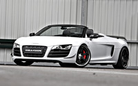Wheelsandmore Audi R8 Spyder GT Triad Bianco wallpaper 1920x1200 jpg