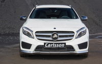 White 2014 Carlsson Mercedes-Benz GLA-Class front view wallpaper 2560x1600 jpg