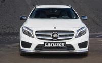 White 2014 Carlsson Mercedes-Benz GLA-Class front view wallpaper 2560x1600 jpg