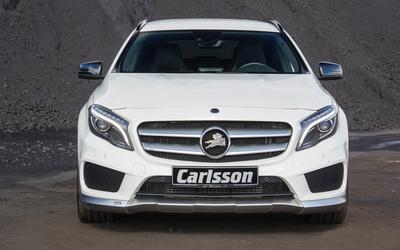 White 2014 Carlsson Mercedes-Benz GLA-Class front view Wallpaper