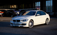 White Alpina BMW 3 Series wallpaper 2560x1440 jpg