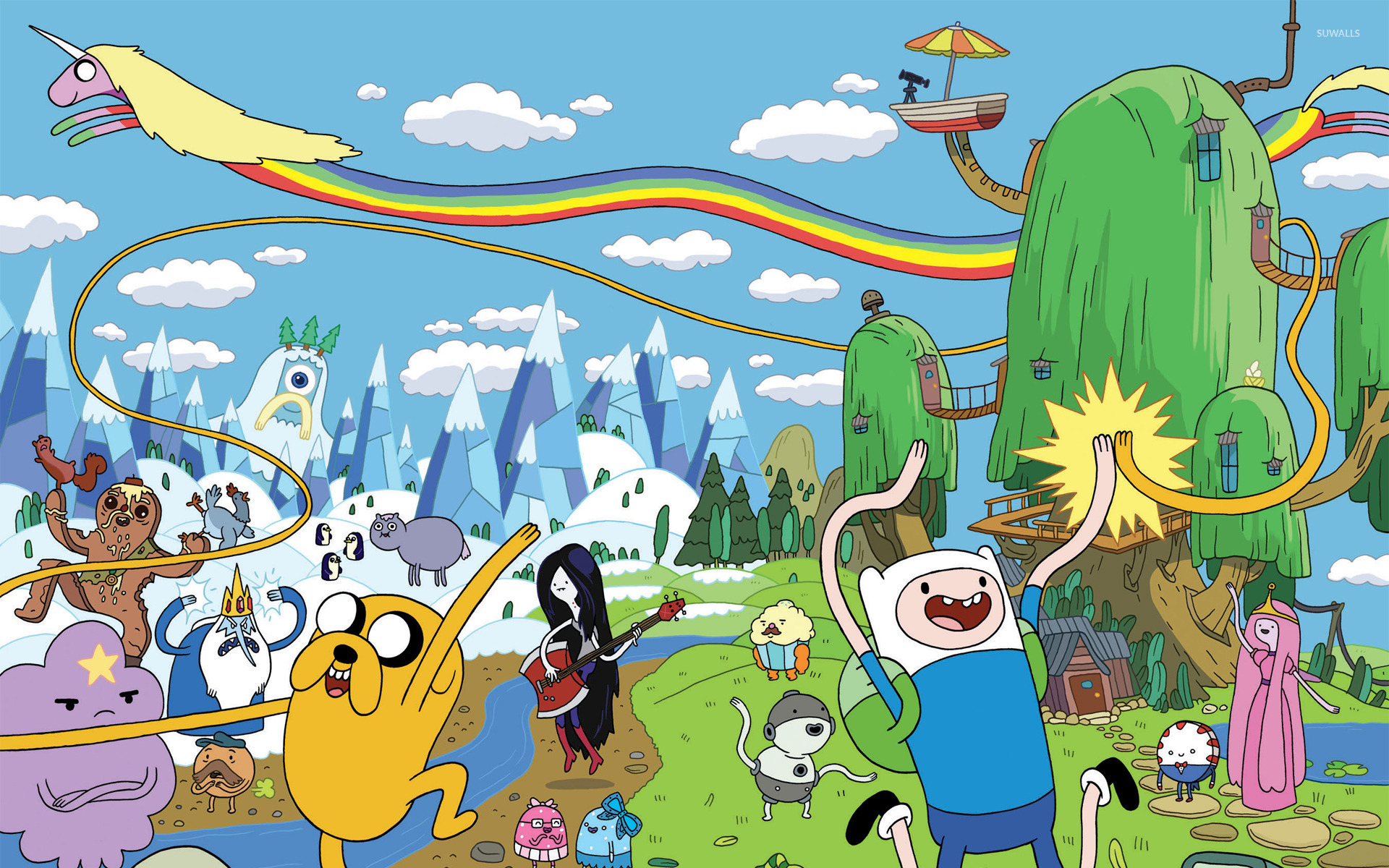 Adventure time wallpaper cartoon wallpapers 15015 adventure time wallpaper thecheapjerseys Choice Image