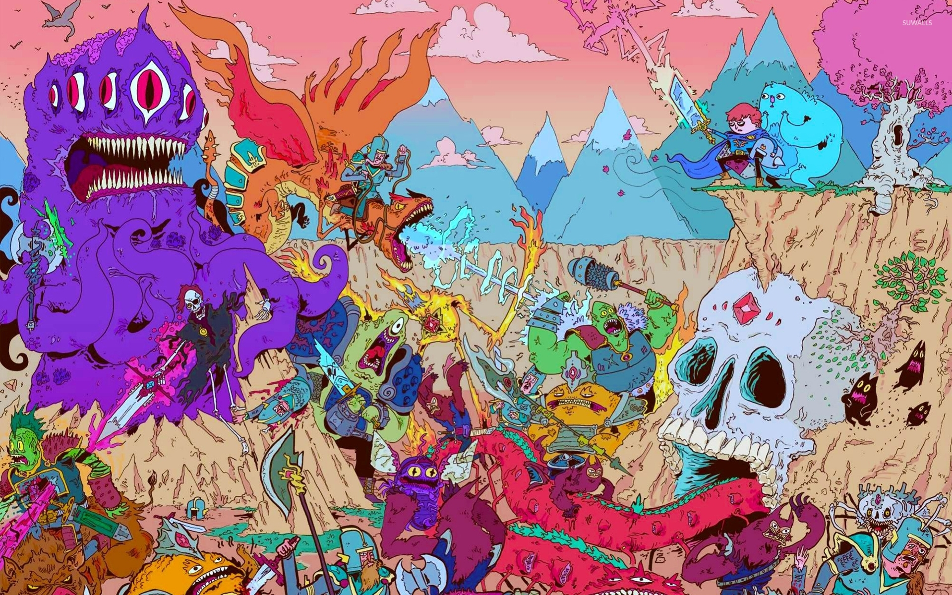 Adventure time 11 wallpaper cartoon wallpapers 41478 adventure time 11 wallpaper thecheapjerseys Choice Image