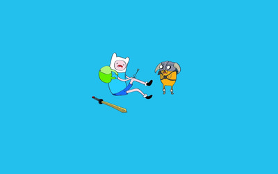 Adventure Time arrow to the knee wallpaper