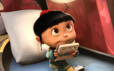 Agnes - Despicable Me 2 [2] wallpaper