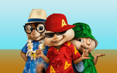 Alvin and the Chipmunks: Chip-Wrecked wallpaper