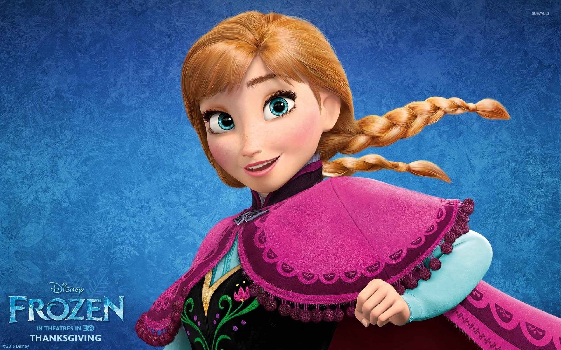 Frozen Anna | 4K wallpapers, free and easy to download