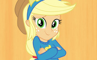 Applejack - My Little Pony Equestria Girls wallpaper 1920x1080 jpg