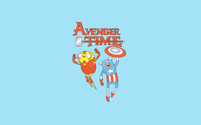 Avenger time wallpaper