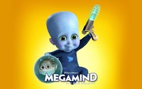 Baby Megamind with a gun wallpaper 1920x1200 jpg