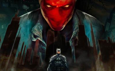 Batman: Under the Red Hood wallpaper