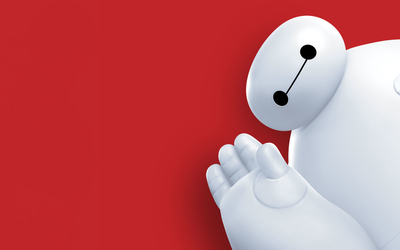 Baymax in Big Hero 6 wallpaper