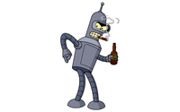 Bender - Futurama wallpaper 1920x1200 jpg