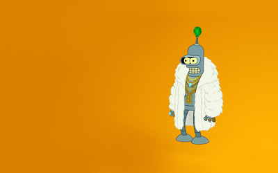 Bling bling Bender wallpaper