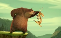 Boog and Elliot - Open Season wallpaper 1920x1200 jpg