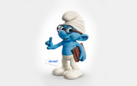 Brainy - The Smurfs 2 wallpaper 1920x1200 jpg