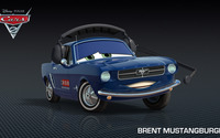 Brent Mustangburger - Cars 2 wallpaper 1920x1080 jpg