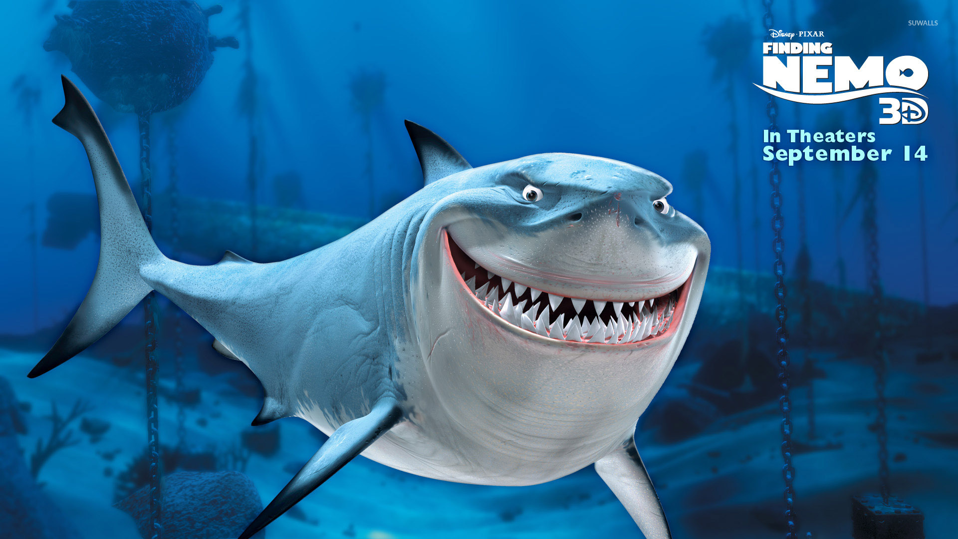 bruce from finding nemo wallpaper - cartoon wallpapers - #49197