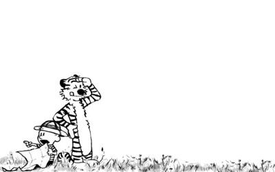 Calvin and Hobbes [5] wallpaper
