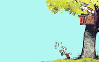 Calvin and Hobbes [2] wallpaper 1920x1200 jpg