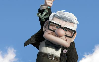 Carl Fredricksen from Up wallpaper