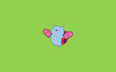Catbug - Bravest Warriors wallpaper
