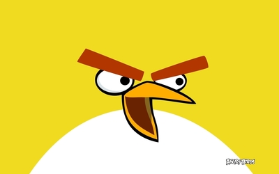Chuck from Angry Birds wallpaper