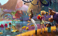Cloudy with a Chance of Meatballs [2] wallpaper 1920x1080 jpg