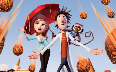 Cloudy with a Chance of Meatballs 2 [3] wallpaper