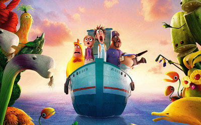 Cloudy with a Chance of Meatballs 2 [6] wallpaper