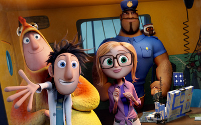 Cloudy with a Chance of Meatballs 2 [7] wallpaper