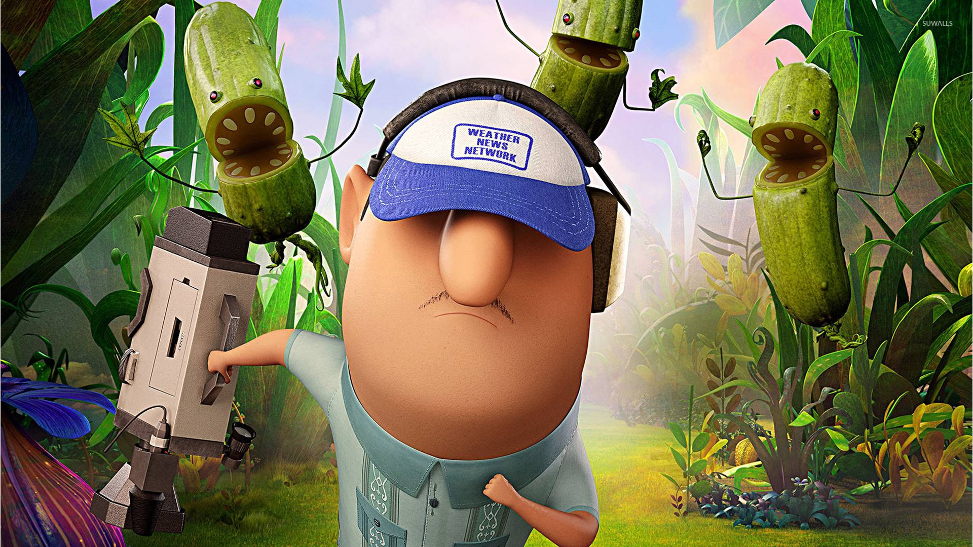cloudy with a chance of meatballs 2 [9] wallpaper - cartoon