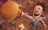 Cloudy with a Chance of Meatballs wallpaper 2560x1600 jpg