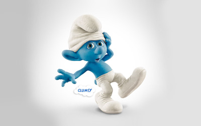 Clumsy - The Smurfs 2 wallpaper
