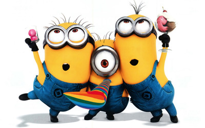Minions - Despicable Me 2 wallpaper