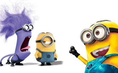Minions - Despicable Me 2 [5] wallpaper