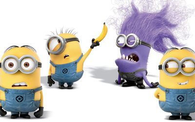 Minions - Despicable Me 2 [3] wallpaper