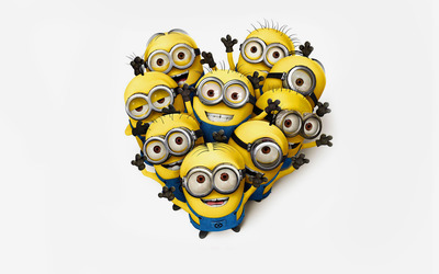 Minions - Despicable Me 2 [2] wallpaper