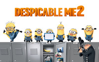 Despicable Me 2 [2] wallpaper 2880x1800 jpg
